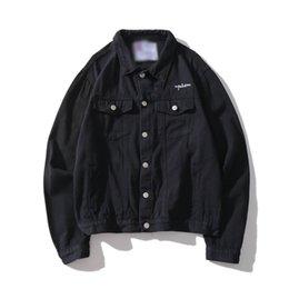 Men Wearing Women Clothes Australia - Champions Jacket New Style Designer Men Denim Jacket spring Luxury Jean Coat Men Women Long Sleeve Outdoor wear Mens Clothing Women Clothes
