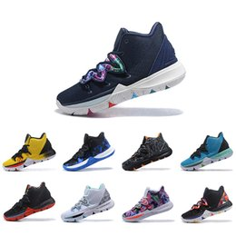 size 40 fc75f 8e8a1 Wholesale Irving Limited 5 Duke Men Basketball Shoes Concepts Black Magic for  Kyrie 5s PE Chaussures Mens Trainers Designer Sneakers 7-12