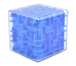 $enCountryForm.capitalKeyWord Australia - 3d Three-dimensional Maze Square Ball Puzzle Force Kindergartener Gift Toys Cube Plastic Student Special Offer