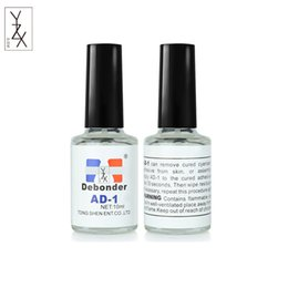 af5da9ca1cb heap Nail Gel 1 Bottle 10ml Debonder Liquid for Removing Glue False Nail  Tips Adhesive False Eyelash Extension Professional Makeup Beauty.