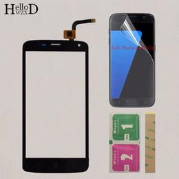 $enCountryForm.capitalKeyWord Australia - 5'' Mobile Touch Screen For ZTE Blade L2 Plus L370 C370 L2Plus Touch Screen Panel Sensor Digitizer Front Glass Protector Film