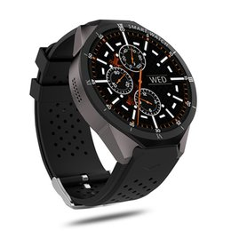 Kw88 Android Quad Core Smart Watch Australia - KingWear KW88 Pro Android 7.0 Smart Watch Phone MTK6580 quad core 1GB 16GB 1.39 inch 400*400 Screen with 2.0MP camera SmartWatch