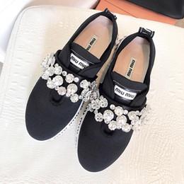$enCountryForm.capitalKeyWord NZ - 2019 high quality brand fashion ladies casual shoes fashion cloth rhinestone design superstar sports flat shoes with original packaging qo