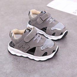 $enCountryForm.capitalKeyWord Australia - 2018 Top quality baby sandals summer boys and girls shoes breathable infant sneakers newborn soft bottom shoes casual first walk SH190916
