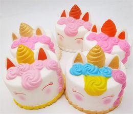 $enCountryForm.capitalKeyWord Australia - squishy CutePink unicornToys 12CM Colorful Giraffe Cat Ears Unicorn Cake Tail Cakes Kids Fun Gift Squishy Slow Rising Kawaii Squishies Toys