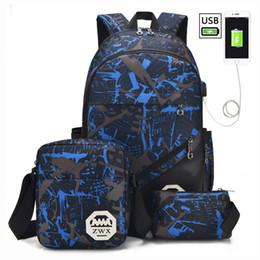 $enCountryForm.capitalKeyWord NZ - Big Capacity School Backpack School Bags For Teenagers Boys Girls Children Schoolbag Waterproof Backpack Kids Mochila Escolar