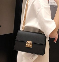 $enCountryForm.capitalKeyWord NZ - 2018 new hot South Korea's new patent-leather satchel instagram bag is a versatile chain bag with a single shoulder