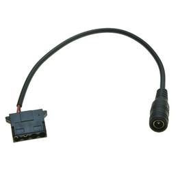Molex Connectors Wholesale Australia - 50 PCS DC 5.5x2.1mm to molex 4Pin 4-Pin connector Big 4-pin fan external power cable