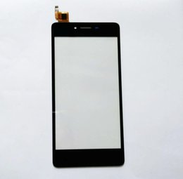 "Discount micromax touch screen - 5.0"" For Micromax Q409 Capacitive Wholesale Touch screen Digitizer front glass replacementwith free 3m stickers"