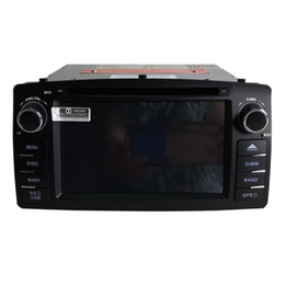 View mp4 player camera online shopping - new Car DVD player for Corolla E120 gps navigation bluetooth radio player Support camera