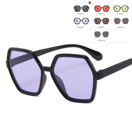 festival sunglasses NZ - New UV400 Glasses Children Oversize Square Kids Sunglasses 2020 New Girls Baby Boys Festival Punk Sunglasses