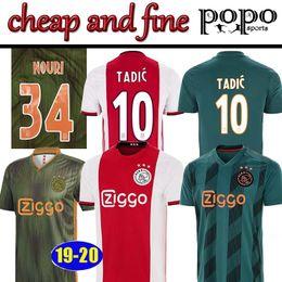 Cheap new soCCer jerseys online shopping - 19 New Ajax Cheap soccer jersey TADIC ZIYECH DE JONG DOLBERG HUNTELAAR SCHONE VAN DE BEEK MEN champions