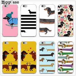 $enCountryForm.capitalKeyWord NZ - Cute Cartoon Dachshund Dog Soft Silicone Phone Case For Iphone 5 5s Se 6 6s 6plus 6splus 7 7plus 8 8plus X