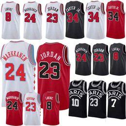 Bulls jerseys online shopping - 23 MJ Jersey Bulls Jerseys Markkanen LaVine basketball Jersey men new