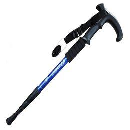 $enCountryForm.capitalKeyWord Australia - 1pc 51-110cm 4 Section Grip Handle Trekking Walking Hiking Sticks Poles Adjustable Telescopic Alpenstock Gifts TP001