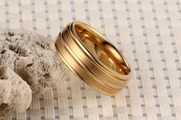 $enCountryForm.capitalKeyWord Australia - Fashion Rings Pure Titanium Material Ring Matte Finish Vacuum Electroplate High Polished Five Colors Titanium Rings