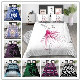 Bedding sets for adult girl online shopping - Creative Graphics Bedding Sets Gradient Color Duvet Cover Set With Pillowcases for girls boys adult Multi Size