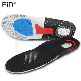 $enCountryForm.capitalKeyWord NZ - Silicone Gel Insoles Foot Care Orthopedic Insoles Shoe Pads Plantar Fasciitis Heel Running Sport For Hiking Camping Men