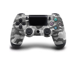 Wireless Controller For Ps2 Australia - Ps4 Wireless Gamepad Bluetooth Controller For PS 4 Dual Vibration Joystick Gamepad Game Controllers For Gamer