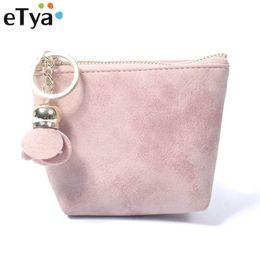$enCountryForm.capitalKeyWord Australia - eTya Coin Purses Women Leather Small Change Money Bags Pocket Wallets Key Holder Case Mini Card Pouch Zipper Female Clutch Bag