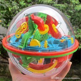 puzzle maze ball 2018 - Wholesale-Hot 3D Space Traveller Intellect Ball Balance Maze Game Puzzle Education Toy For Children13*11.5CM cheap puzzl