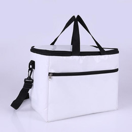 thermal white bag NZ - Oxford White Keeping Portable Bag Water Proof Keep Warm Package Single Shoulder Cooler Insulated Thermal Zipper Hot Sale H058