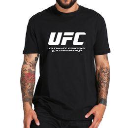 Xs mma shorts online shopping - New UFC Theme T shirt Men MMA Fashion Clothes Fighting Club Pattern Short Sleeve Black T Shirt Male Harajuku Base