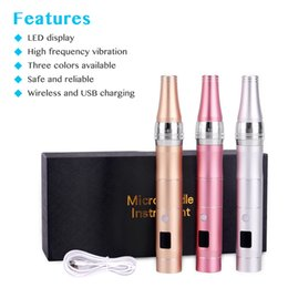 derma rollers korea Canada - Korea Derma Pen Wireless Microneedle Derma Roller With LCD Screen Rechargeable Micro Needling Pen For Face Skin Care Home Use DHL Free Shipp