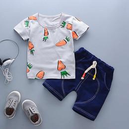 $enCountryForm.capitalKeyWord Australia - good quality 2019 Baby Boy Clothes New Summer Kids Clothes for Boy Short+Jean Pant 2PCS Outfit Set Toddler Boy Clothes Tracksuit Set