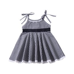 $enCountryForm.capitalKeyWord UK - Explosion children's clothing Europe and America plaid print strap dress summer girls skirt