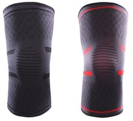 Coude Genouillères Fitness Course À Vélo Genouillère De Soutien Bretelles Nylon Élastique Sport Compression Genou Pad Manches pour Basketball Volleyball on Sale