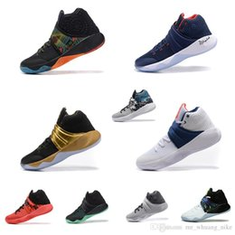$enCountryForm.capitalKeyWord Australia - Men Kyrie ii basketball shoes for sale BHM USA Parade MVP Black Gold Navy Red Independence Day kyries irving 2s two sports sneakers with box