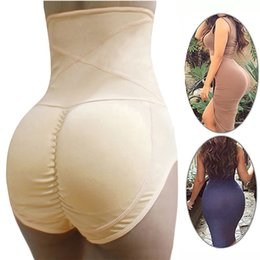 women large panties Canada - Fake Ass Butt Lifter Sexy Underwear Padded Slimming Panties Shapewear Women Tummy Shaper Corrective Panties Large Size