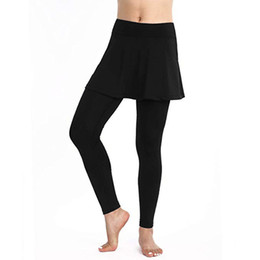 $enCountryForm.capitalKeyWord Australia - Hot Selling New 2019 Women's Casual Skirt Leggings Tennis Pants Sports Fitness Culottes Gym Yoga Pants#35