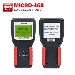 Micro Oil Australia - Battery System Tester MICRO-468 for 12v & 24v system micro 468 test for CCA, BCI, CA Multi-language free shipping
