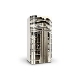 $enCountryForm.capitalKeyWord UK - Fridge Wrap  Dishwasher Sticker Black White Telephone Booth Removable Self Adhesive Vinyl  Peel and Stick Decal Wallpaper