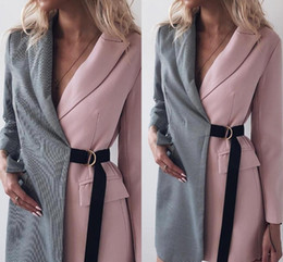 color matching light NZ - Color Matching Mother of the Bride Suits V Long Sleeve Short Evening Party Wear One Piece Club Prom Outfit