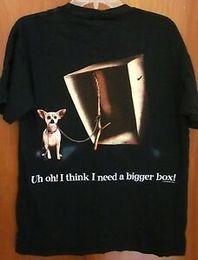 $enCountryForm.capitalKeyWord Australia - TACO Men Yo Quiero dog med tee Chihuahua T shirt Godzilla 1998 lizard box