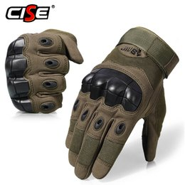 $enCountryForm.capitalKeyWord Australia - Touch Screen Motorcycle Full Finger Gloves Motocross Protective Gear Motorbike Racing Rubber Hard Knuckle Outdoor for Men Women
