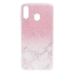 mobile phone covers for girls NZ - For Samsung Galaxy M20 Case Cover Transparent Soft TPU Colour decoration Tower bike Butterfly Girl Mobile Phone Cases