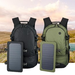 Wholesale Outdoor Solar Usb Charging Multifunction Backpack L Hiking Camping Business Backpack Waterproof Bag For Men Travel Knapsack