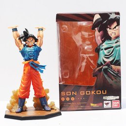 Figuarts Figures NZ - 16cm Anime Dragon Ball Z Figuarts Zero Son Goku Spirit Bomb Genki Dama Ver PVC Action Figure DBZ Cool Model Doll
