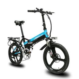 b8037724631 Folding bicycle electric bike online shopping - Cyrusher G550 Folding full  suspension electric bike mechanical disc