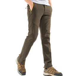 5471a4f24d6 Outdoor Pants men s autumn and winter outdoor anti-fouling warm thickening  hiking pants men wholesale