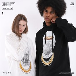 $enCountryForm.capitalKeyWord Australia - Mens Designer Hoodies Luxury Hiphop Wear Fashion Trendy Masked Mans Sweater Trendy Loose Mens Clothes 2019 New Womens Pullover for Spring