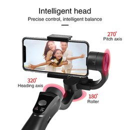 iphone gimbal Australia - High Quality Handheld Gimbal Stabilizer Holder Mobile App Wireless Control Photo Holder For Iphone 6 7 8 Samsung Hua wei