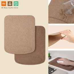 xiaomi mouse NZ - Xiaomi Youpin Mouse Pad Waterproof Skin Friendly Oak Coating Ergonomic Mouse Mat With Wrist Rest For Wired Wireless Gaming