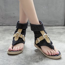 Shoes Sale T Strap Australia - Hot Sale-Summer Sandals Women T-strap Flip Flops Thong Sandals Designer Elastic Band Ladies Gladiator Sandal Shoes Zapatos Mujer