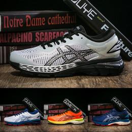 Best white sneakers for men online shopping - ASICS New GEL KAYANO Running Shoes For Men Balck White Dark Green Designer Shoes Best Quality Sport Sneakers US
