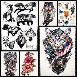 9a892b19a Chinese Temporary Tattoos NZ - 1PC Sexy men women temporary tattoo stickers  GQS-A061 Evil